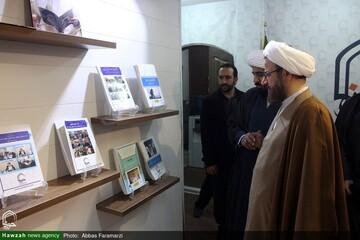 بالصور/ رئيس مكتب التبليغ الإسلامي يتفقد مركز إعلام الحوزة العلمية بقم المقدسة