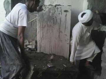 فعالیت۳۵۰۰ نیروی جهادی در مناطق سیل زده  سیستان و بلوچستان
