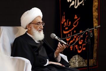 تسلیت آیت الله العظمی نوری همدانی به حوزه علمیه اصفهان