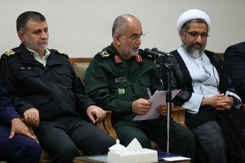 تصاویر/ دیدار اعضای ستاد کنگره دو هزار شهید استان بوشهر با رهبر انقلاب