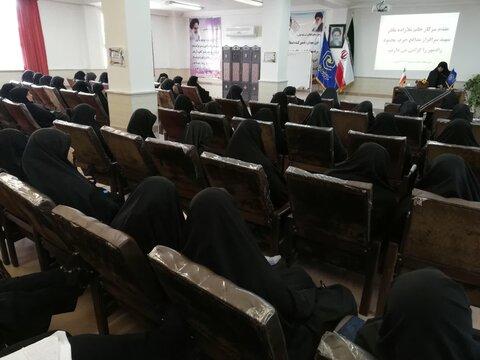 برگزاری نشست فاطمی در مدرسه علمیه حضرت نرجس(س) ساری