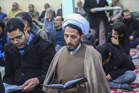مراسم گرامیداشت جانباختگان سقوط هواپیما در هیئت ابوالفضلی بیرجند