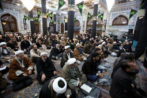 مجلس ترحیم جانباختگان هواپیمای اوکراینی در مسجد اعظم