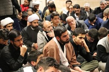 تصاویر/ مراسم گرامیداشت سپهبد شهید سردار سلیمانی و جانباختگان سقوط هواپیما در مدرسه علمیه امام صادق(ع)قروه