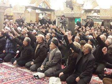 تصاویر/ مراسم بزرگداشت جانباختگان سقوط هواپیما در تبریز