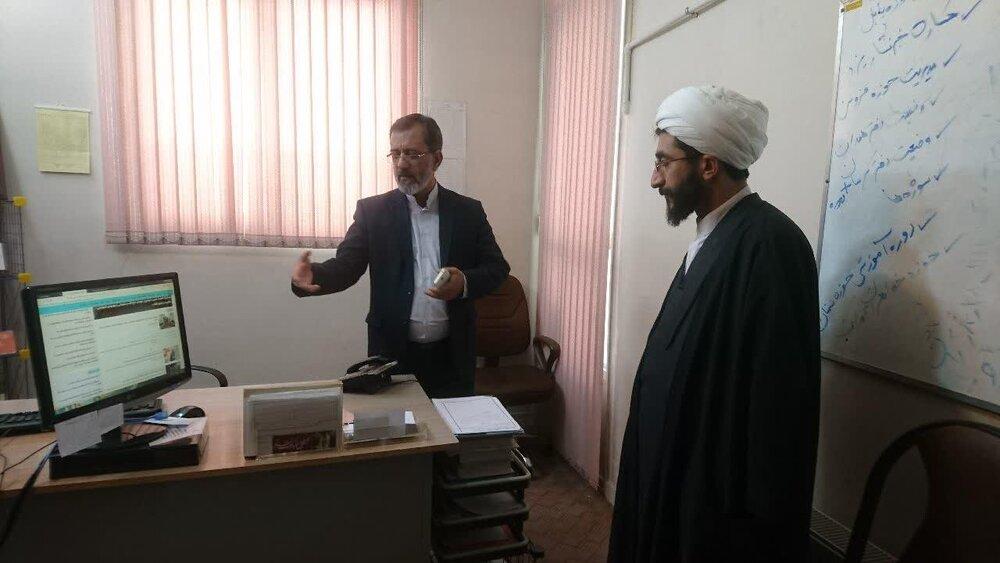 بازدید مدیر حوزه علمیه فارس از خبرگزاری حوزه
