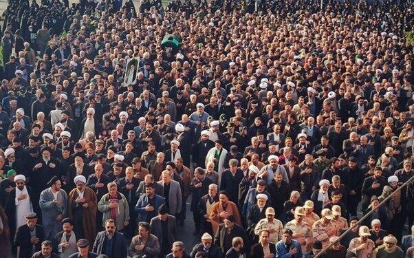 پیکر آیت الله سیدمحمدرضا میبدی در گرگان تشییع شد