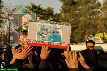 تصاویر/ مراسم تشییع پیکر جانباختگان هواپیمای مسافربری در اصفهان