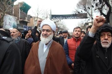 قیام مردم قزوین در جمعه انقلابی+ عکس