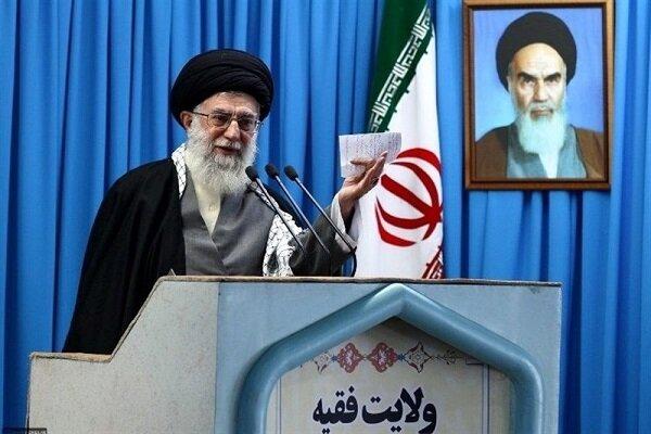 صوت کامل خطبه اول رهبر انقلاب در نماز جمعه تهران