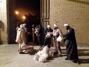 فیلم| حضور طلاب جهادی حوزه علمیه قم در سیستان و بلوچستان