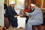 نسخ خطی کتابخانه شیخ عبدالکریم خاقانی تصویربرداری شد