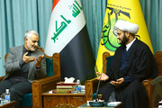 I am proud of being with al-Nujaba: Martyr Lieutenant-general Soleymani