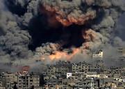 نمای نزدیک از بمباران اسرائیلی ها در هیسپان تی وی