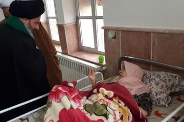 مسئولین حوزوی یزد به عیادت سالمندان رفتند+ عکس