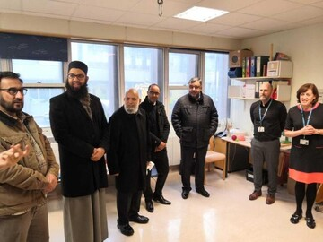 Harrow central Mosque donates £11,000 to Northwick Park hospital