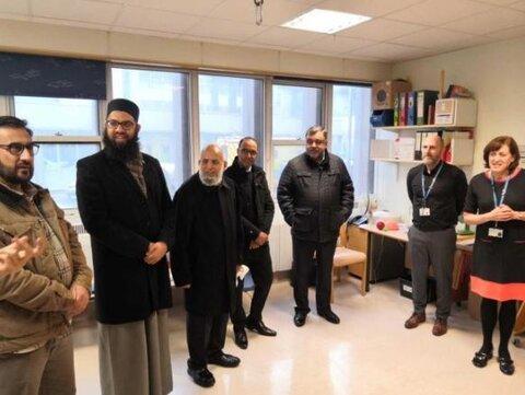 مسجد مرکزی هرو کمک 11 هزار یورویی به بیمارستان کودکان کرد