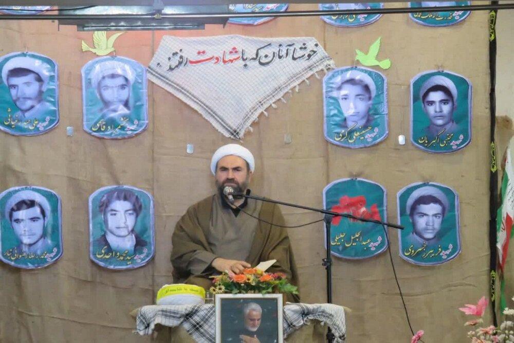 تصاویر/ یادواره شهدای روحانی شهرستان سنقر و کلیایی