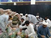 برپایی ایستگاه های جمع آوری کمک به سیل زدگان در بقاع متبرکه همدان