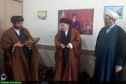 مراسم معارفه هیئتامنای جدید مدارس علمیه اندیمشک+عکس