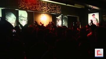 جوانان شهر صور لبنان خواستار قصاص خون شهید سلیمانی شدند