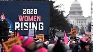 Women's March: Thousands protest against Donald Trump