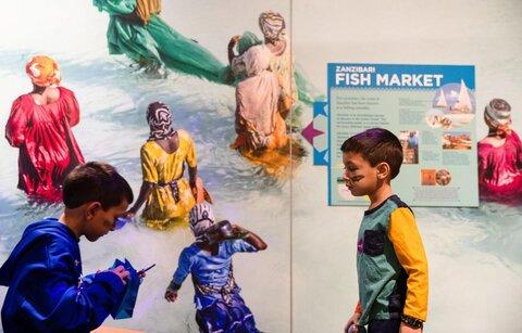 نمایشگاه فرهنگ های مسلمانی دور و نزدیک در موزه کودک اوماها