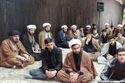 تصاویر/ مراسم بزرگداشت شهید سردار سلیمانی در مدرسه علمیه امام باقر (ع) کامیاران
