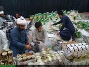 بالصور/ مساعدة طلاب العلوم الدينية للمتضررين من السيول في محافظة سيستان وبلوشستان جنوبي شرق إيران