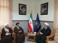 دیدار رئیس ستاد اعتکاف کشور با مدیر حوزههای علمیه خواهران