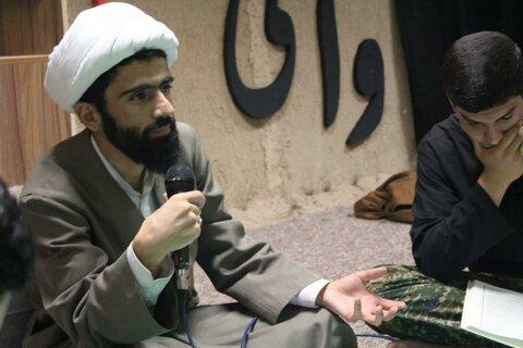 تصاویر/ محقل انس با قرآن کریم در مدرسه علمیه امام صادق (ع) قروه