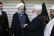 تصویری رپورٹ| ملی یکجہتی کونسل کے وفد کی مجمع جہانی کے سربراہ سے ملاقات