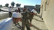 تصاویر/ کمکرسانی طلاب و روحانیون هرمزگانی به سیل زدگان این استان