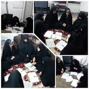 اعتکاف علمی طلاب مدرسه شهیده بنت الهدی علی آباد کتول