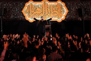 تصاویر/ مراسم عزاداری شهادت حضرت زهرا (س) در گلزار شهدای قم