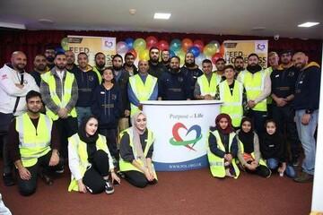 خیریه اسلامی روچستر انگلستان به بی خانمانها و نیازمندان غذارسانی میکند
