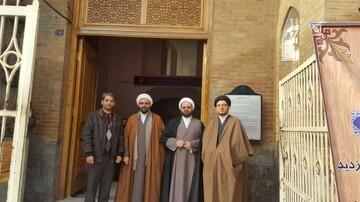 بازدید مدیر حوزه تهران از دارالفنون+ عکس