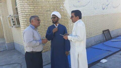 کمکرسانی طلاب و روحانیون هرمزگانی به سیل زدگان