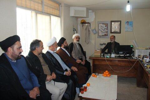 بازدید معاون منابع انسانی و پشتیبانی حوزه های علمیه کشور از مدارس علمیه قزوین