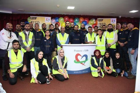 Muslim charity feeds Worcesters' homeless and needy