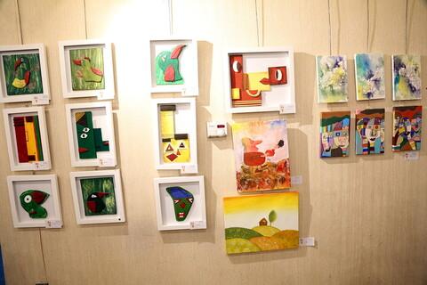 چهارمین نمایشگاه گروهی نقاشی خلاقیت کودکانه