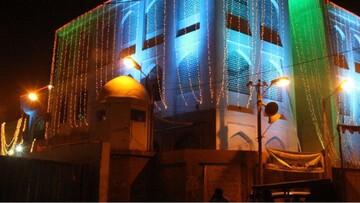 یک مرد هندو، متولی مسجدی در کراچی پاکستان است