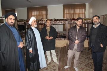 افتتاح دو پروژه در مدرسه علمیه امام صادق(ع) قزوین+ عکس