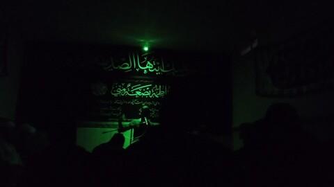 تصاویر / مراسمعزاداری ایام فاطمه در حوزه علمیه شبستر