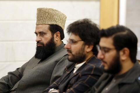 دیدار جمعی علمای پاکستان با آیت الله العظمی مکارم شیرازی