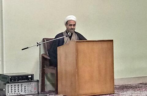حجت الاسلام نکونام- نماینده طلاب گلپایگان
