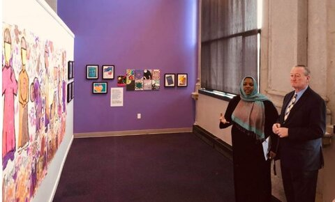 بانوی مسلمان به عنوان عضو هیئت موزه فیلادلفیا انتخاب شد