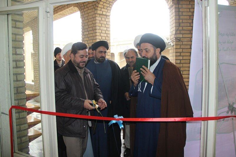 دو افتتاحیه در مدرسه علمیه امام صادق (ع) قزوین