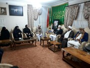 ملی یکجہتی کونسل کے اعلیٰ سطحی وفد کی شہید قاسم سلیمانی کے اہلخانہ سے ملاقات