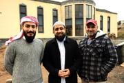 ساخت مسجد بزرگ در یکی از شهرهای اسکاتلند رو به پایان است